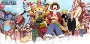 kiss anime one piece